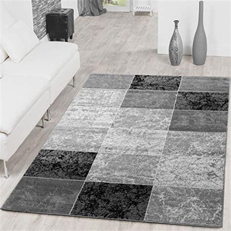 tappeti ovali moderni teppich preiswert karo design modern wohnzimmerteppich