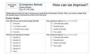 Customer Service Template customer service survey template customer service template