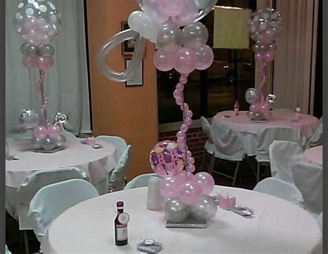 how to make table centerpieces easy baby shower centerpieces baby shower ideas