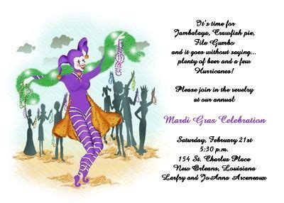 Enjoy Your Shrove Tuesday by Enjoy Lots Of Unique Mardi Gras Jester Invites As
