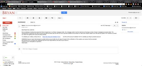 email edu college email safe after phishing attempt the triangle