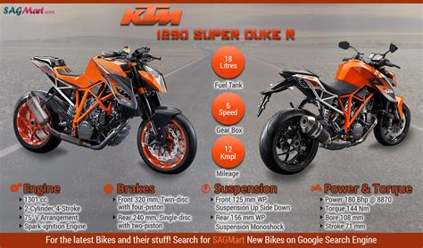 Ktm 1290 Superduke Price Ktm 1290 Duke R Infographics Sagmart