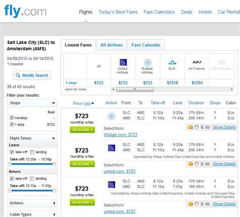 726 756 salt lake city to amsterdam r t w tax fly travel