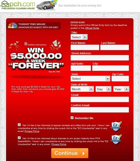 Pch Claims Code Email - www pch com make claim for your publishers clearing house prize entry