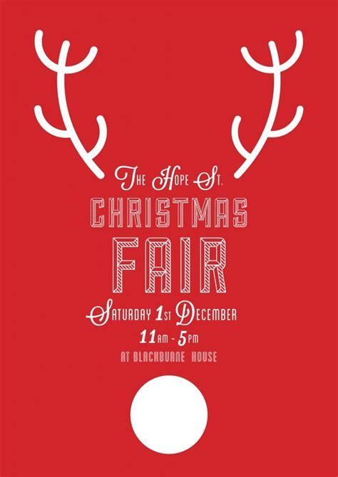 kin  hope st christmas fair christmas poster christmas flyer christmas fair ideas