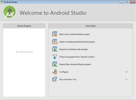 android studio tutorial notes creating project using android studio zebra technologies