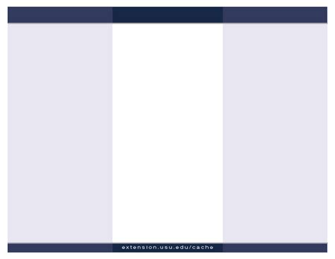 blank brochure template for word best photos of blank brochure templates blank tri fold