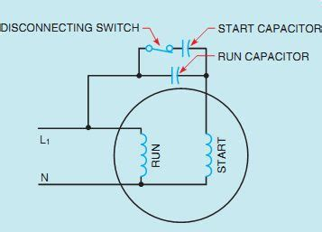 start and run capacitors for single phase motor delta connection diagram delta free engine image for user manual