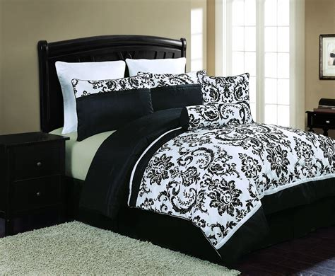 Comforter Sets Black And White Black And White Bedding Sets That Will Make Your Room Look