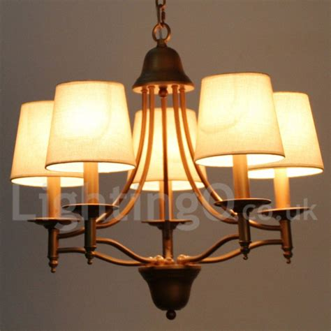 dining room candle chandelier 5 light rustic retro living room bedroom mediterranean