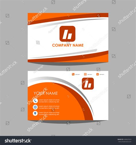 id layout design template layout template id card and business card design stock