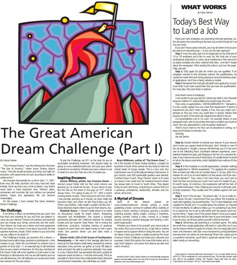 the great american challenge read library of inspiring content
