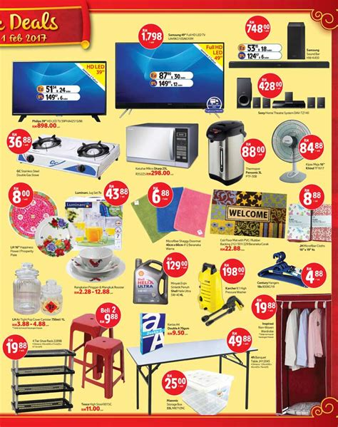 tesco malaysia new year promotion tesco hypermarkets new year promotion 2017