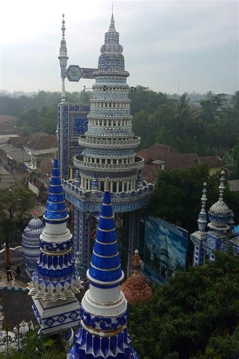 Pajangan Menara Pagoda menara puncak masjid tiban turen malang