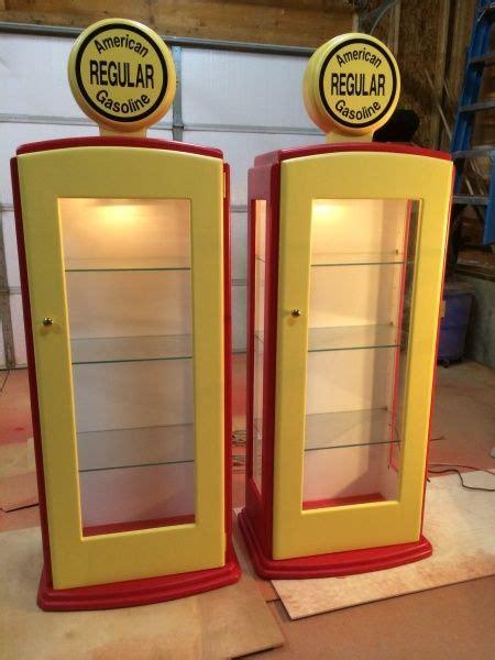 gas pump curio cabinet   kreg owners community