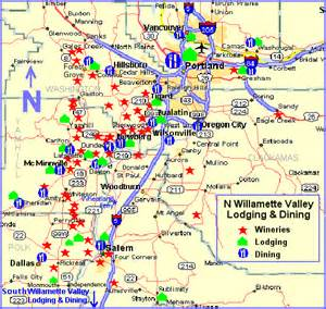 maps page n willamette valley wine country lodging and