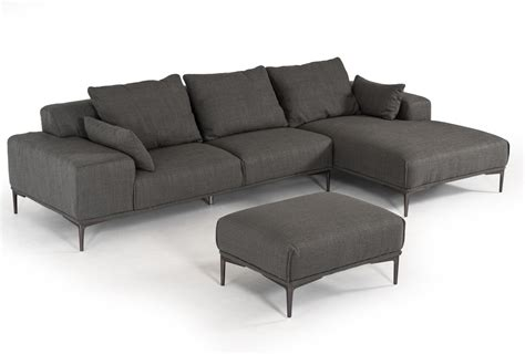 2 piece sectional with ottoman 2 piece durant dark grey sectional ottoman