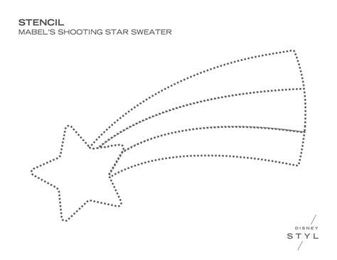 Diy Mabel Pines Shooting Star Sweater Shooting Coloring Page