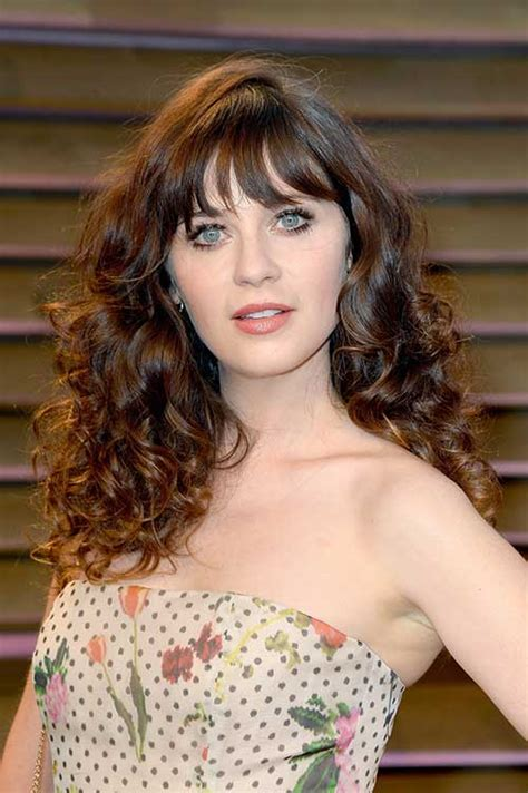 Wedding Hairstyles With Across Bangs by 30 Hairstyles For Curly Hair With Bangs Hairstyles