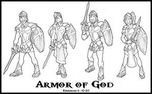 armor of god coloring pages shazzbaa and comics by shazzbaa