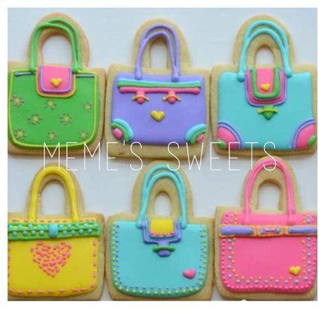 Idea Designer Handbag Cookies By Elenis by M 225 S De 100 Ideas Que Probar Sobre Galletas Bolsas