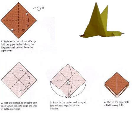 Movable Origami - movable origami duck flapping wings origami
