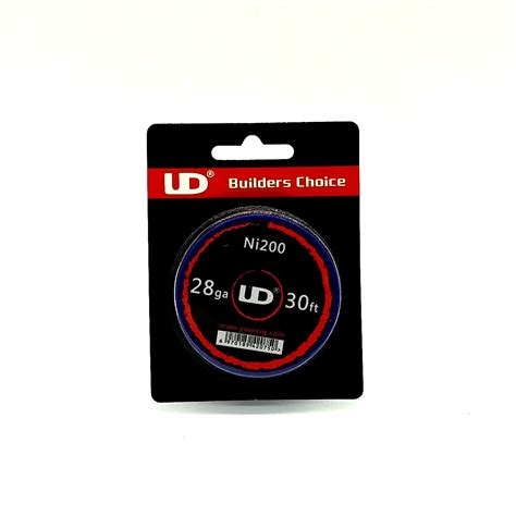 Ud Builders Choice Authentic Best For Vaporizer Wire Diy ud builder choice 30feet ni200 rba wire for building rba coil vaporfan e cig store
