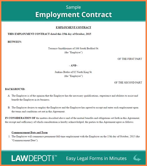 employment agreement template australia purchase agreement group
