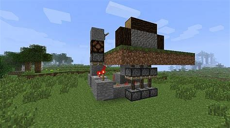 Minecraft House With Garage by Simple Garage Door Minecraft Project