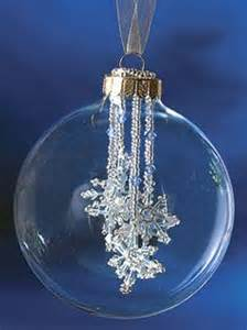 My favorite for clear ornaments more