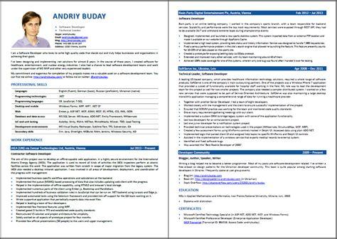 free resume formatting success archives andriy buday