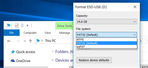 format exfat dos what file system should i use for my usb drive