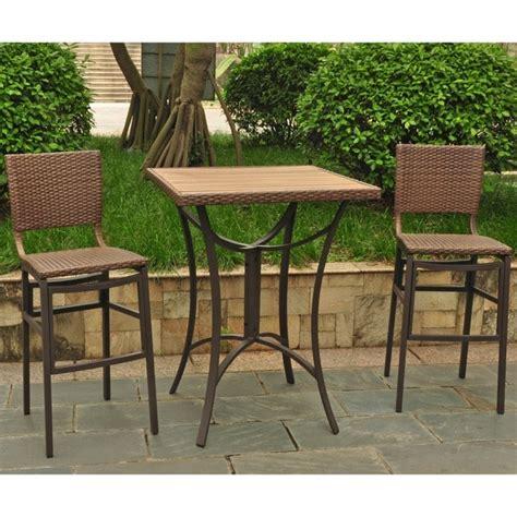 resin wicker aluminum bar height patio bar stool set of 2 international caravan barcelona resin wicker aluminum bar
