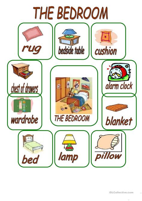 things to do in the bedroom 74 free esl bedroom worksheets