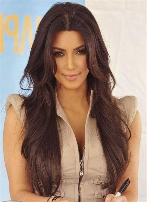 kim kardashiantop 10 best hairstyles ever 2 20 best collection of kim kardashian long hairstyles