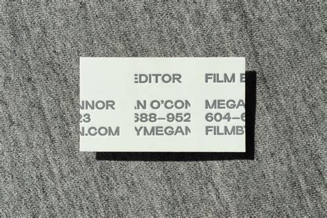 megan park rethink film editor business card rethink canada