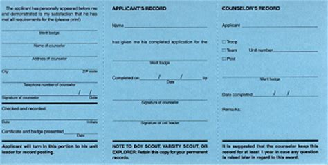 merit badge blue card template quot buffy s quot guide to boy scout merit badge bluecards