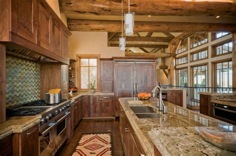 Country Rustic Kitchen Designs | modern mountain kitchen design rustic kitchen denver