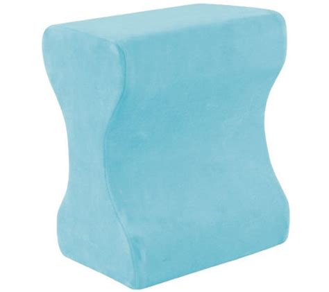 Memory Foam Leg Pillow by Contour Memory Foam Leg Pillow Qvc