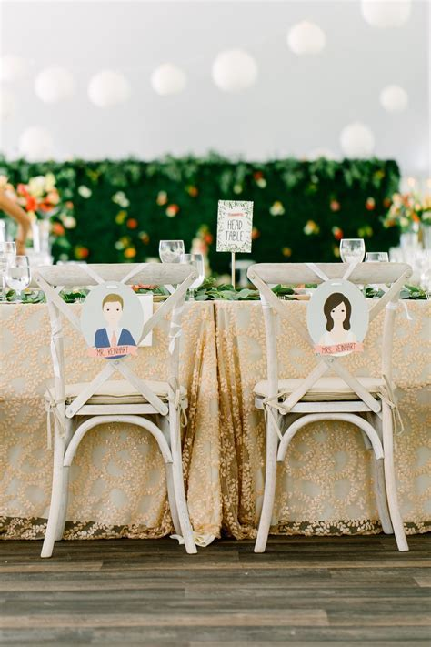 40 Pretty Ways to Decorate Your Wedding Chairs   backyard