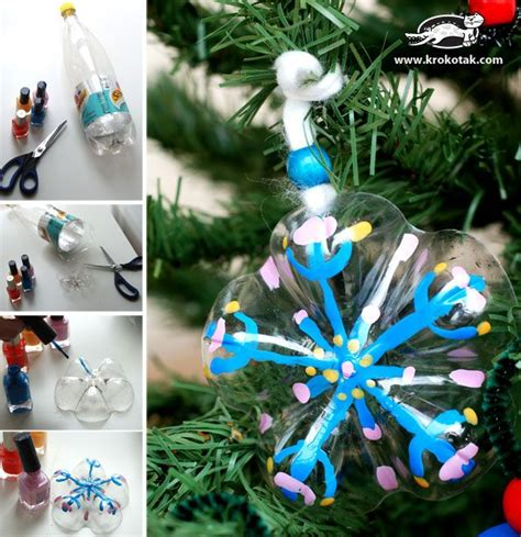 fantastic christmas decoration ideas with waste material