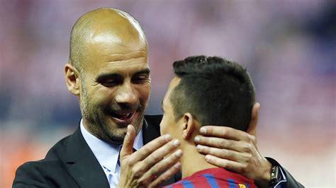 alexis sanchez guardiola man city manager pep guardiola says he didn t help