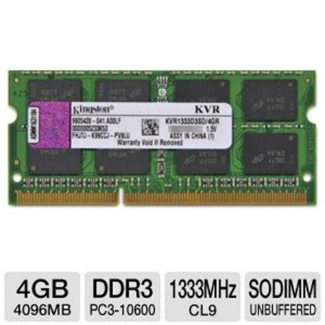 Corsair Memory Notebook 4gb Ddr3 Pc 10600 kingston kvr1333d3so 4gr laptop memory module 4gb pc3 10600 ddr3 1333mhz non ecc cl9