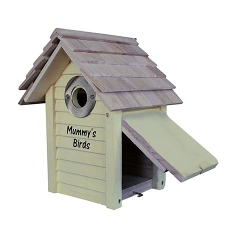 personalised wooden bird box from jonny s sister uk