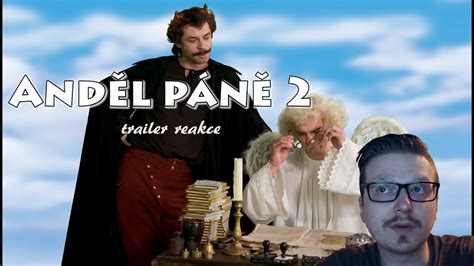 andel pane  trailer reakce youtube