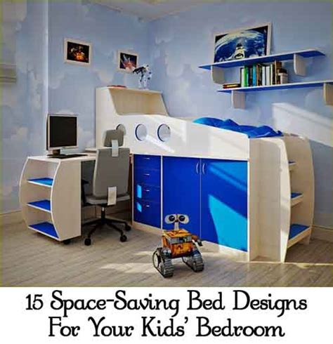 space saving kids bedroom 15 space saving bed designs for your kids bedroom lil