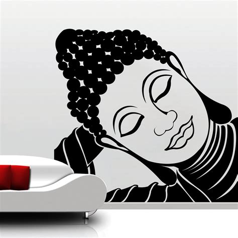 buddha wall sticker buddha wall decal roselawnlutheran