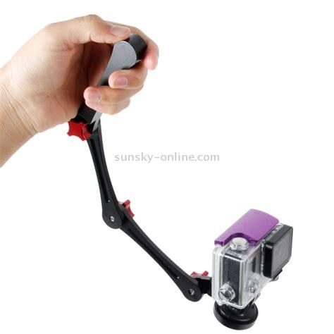 Tmc 3 Way Foldable Pocket Stabilizer Grip Monopod Gopro Black sunsky tmc foldable pocket stabilizer grip mount monopod