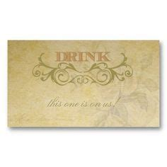 complimentary drink ticket business card templates complimentary drink ticket business card templates