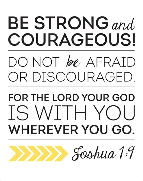 be strong and courageous joshua 1 9 navy christian joshua bible quotes quotesgram